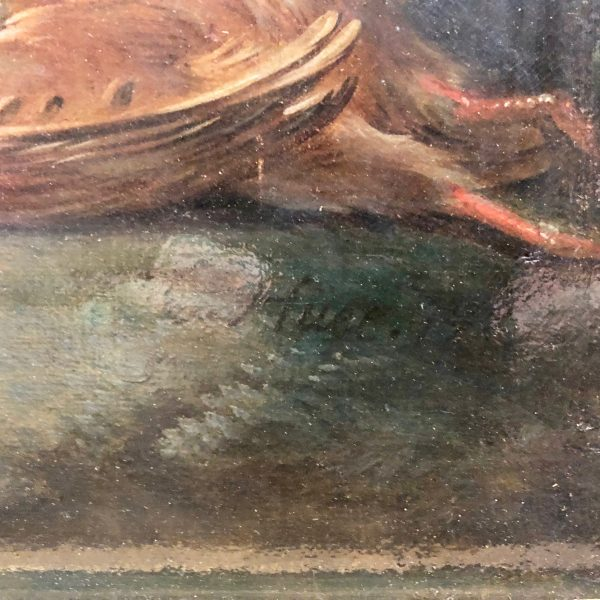 Christophe Huet's signature