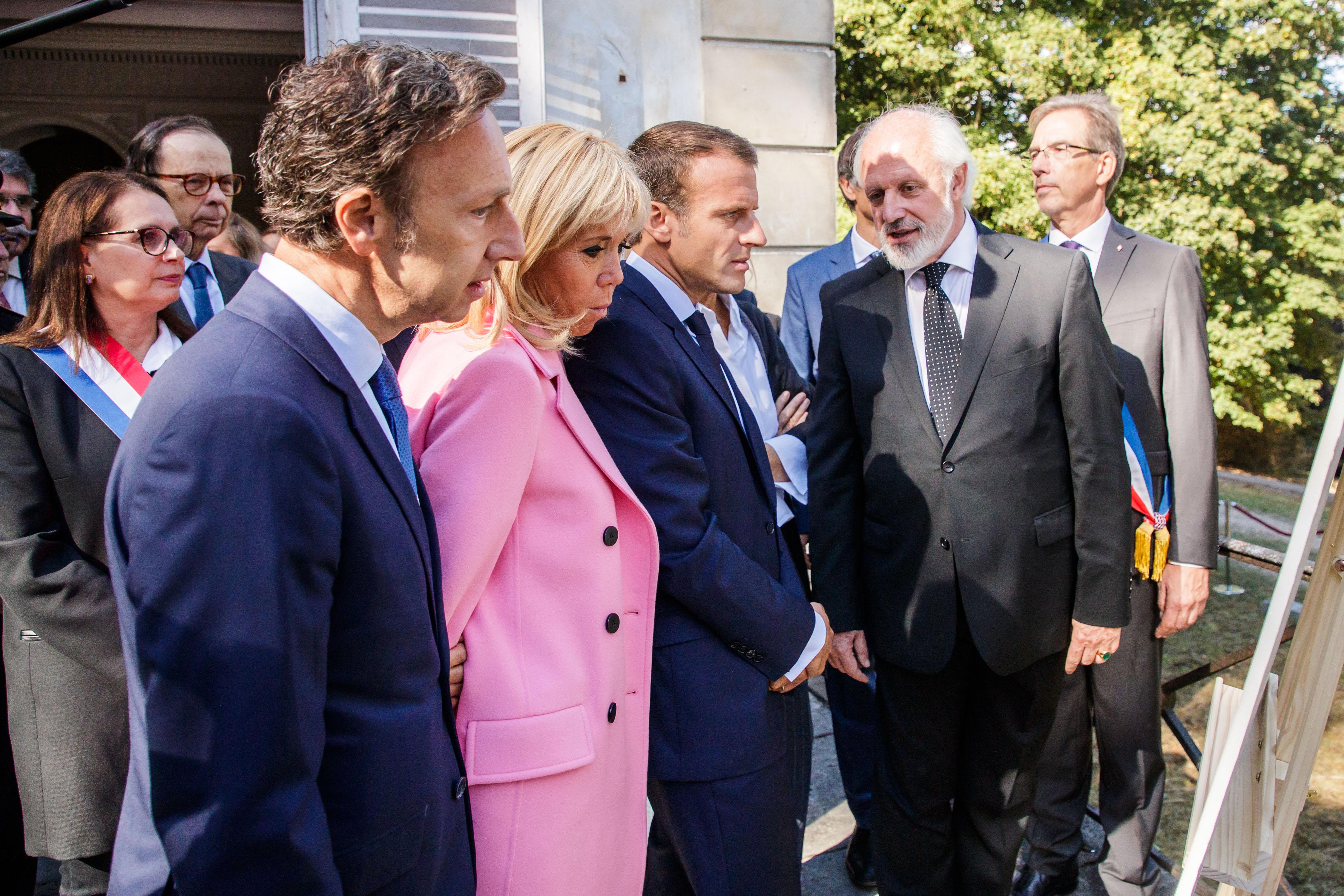 Stéphane Bern a été missionné par le président de la République Emmanuel Macron dans la défense du patrimoine français. Photo : Christophe Petit Tesson / POOL / AFP