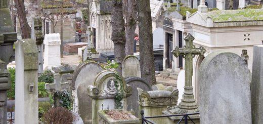 Le cimetière du Père-Lachaise dans le 20e arrondissement arrive à saturation, selon un rapport de la chambre régionale des comptes publié début juin. Crédits : Carlos Delgado