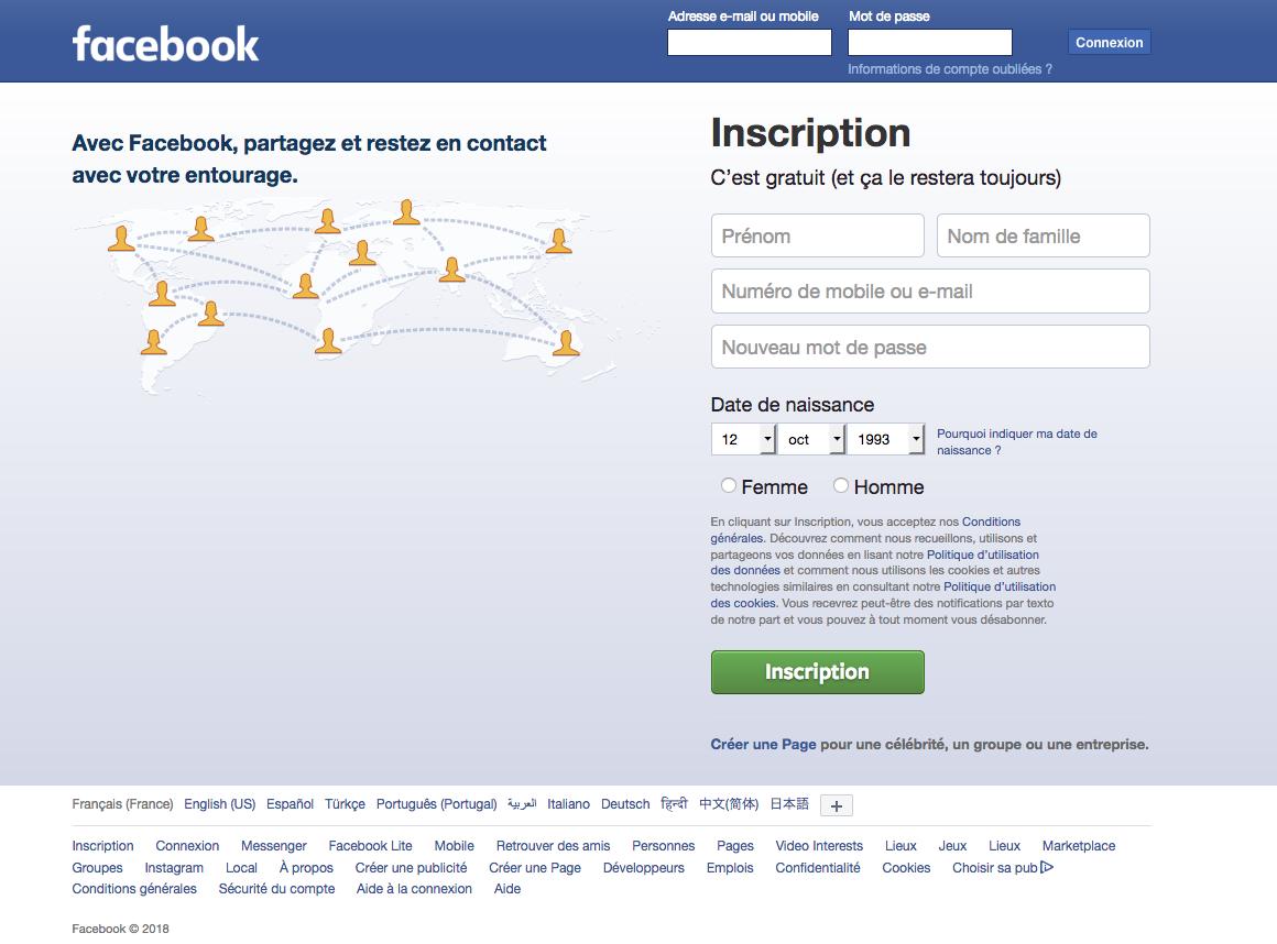 Facebook a annoncé avoir fermé de nombreuses pages et comptes.