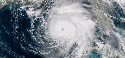 L'ouragan est passé en catégorie 5 sur une échelle de 5 d'après le Centre national des ouragans (NHC) - Images/Nasa
