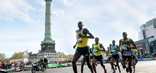Les Kenyans sont les grands vainqueurs du marathon de Paris.