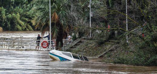 Au total, c'est 16 personnes qui ont été secourues dans le Var. Images- AFP